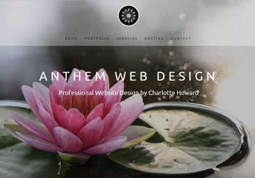 anthem-web-design