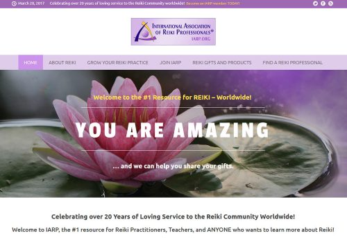 reiki-organization-website